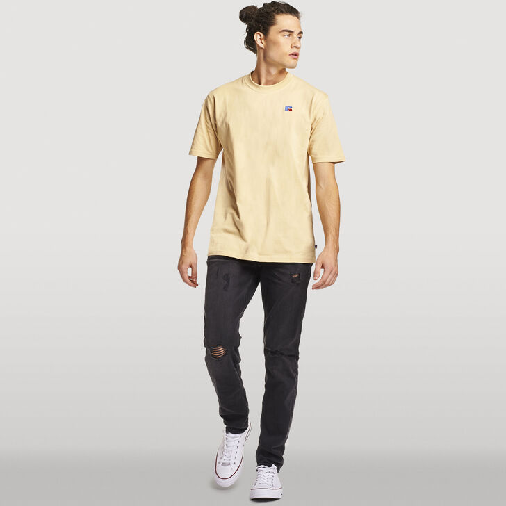 Men's Heritage Heavyweight Baseliner T-Shirt ALMOND