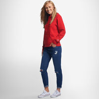 Women's Lightweight Fleece Hoodie TRUE RED