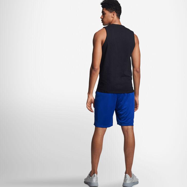 Men's Cotton Performance Muscle BLACK