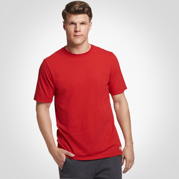 Men's Essential Tee TRUE RED