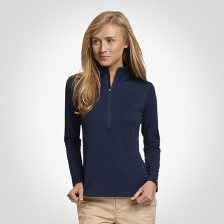 Women's Dri-Power® Lightweight Performance 1/4 Zip NAVY