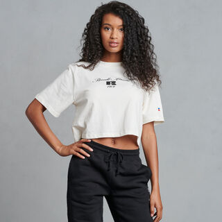 Women's Boxy Crop Graphic Tee SOYA