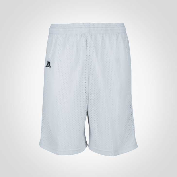 Youth Dri-Power® Mesh Shorts GRIDIRON SILVER