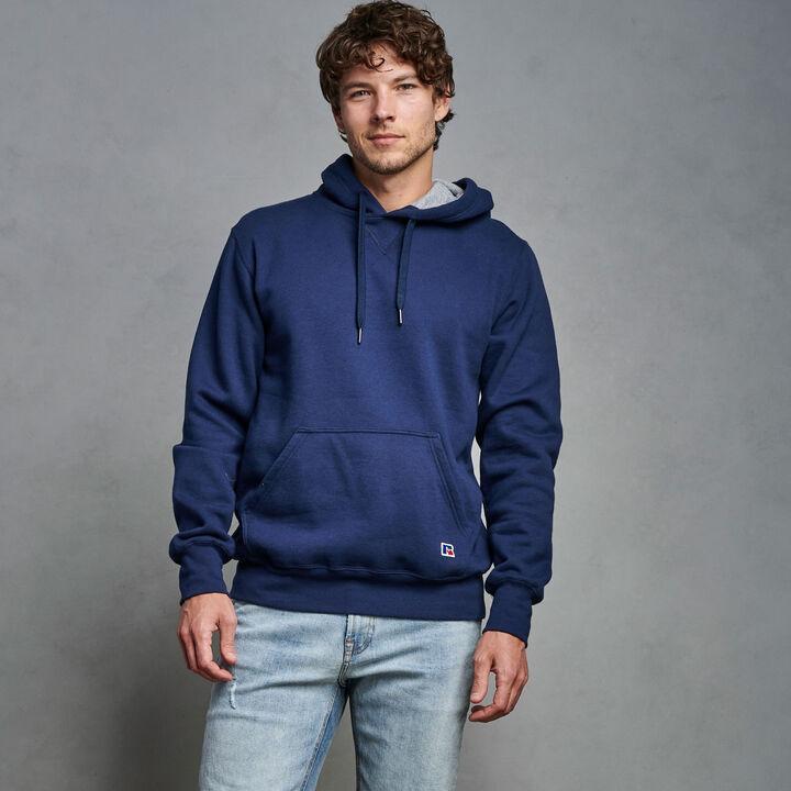Men's Cotton Rich 2.0 Premium Fleece Hoodie Navy