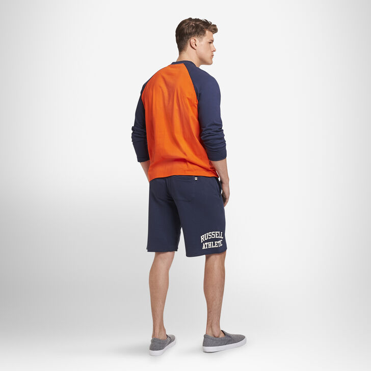 Men's Heritage French Terry Cut Off Shorts NAVY
