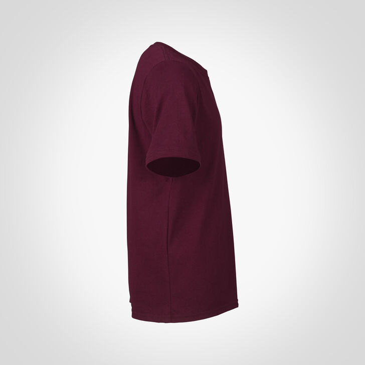 Youth Cotton Performance T-Shirt MAROON