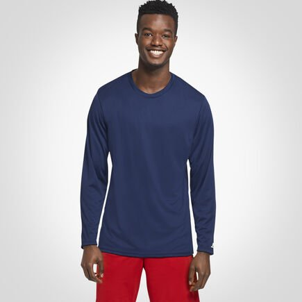 Men's Dri-Power® Performance Long Sleeve T-Shirt NAVY