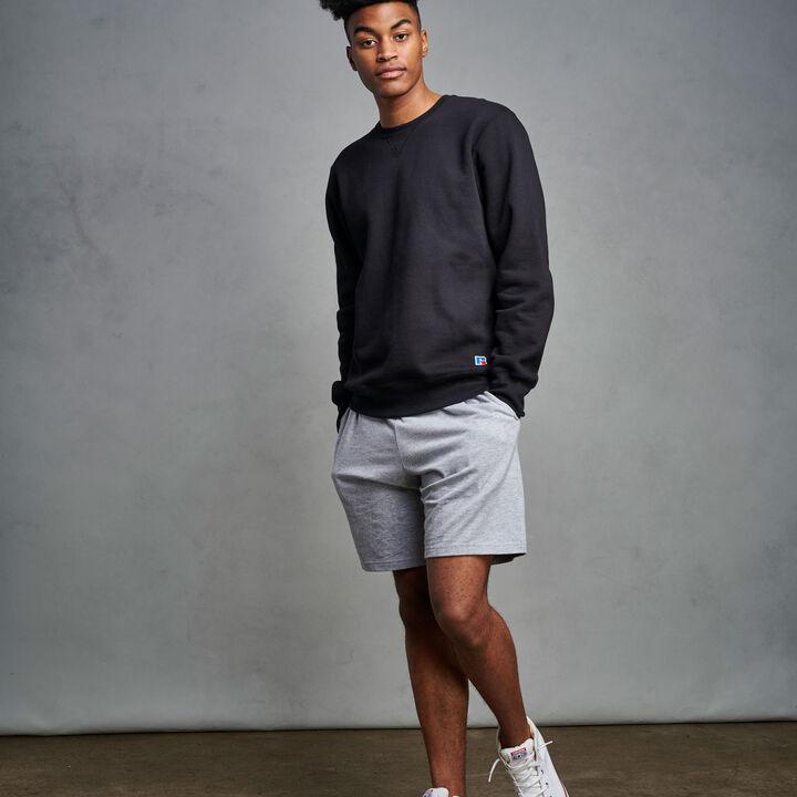 Men's Cotton Rich 2.0 Premium Fleece Sweatshirt Black