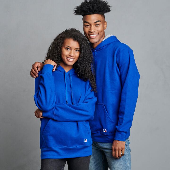 Men's Cotton Rich 2.0 Premium Fleece Hoodie Royal