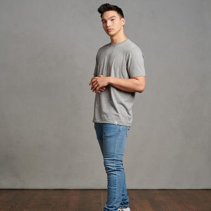 Men's Cotton Performance T-Shirt Oxford