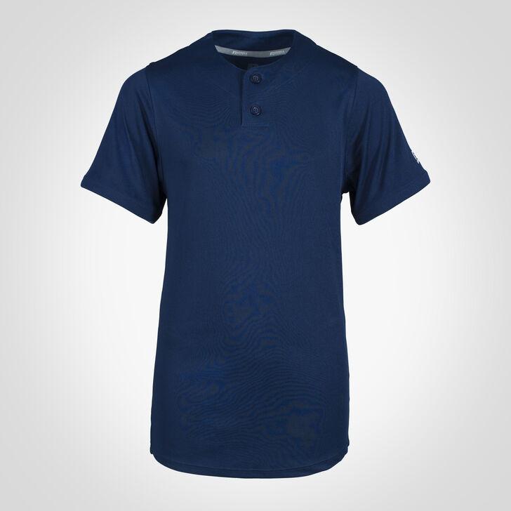 Youth Dri-Power® Solid Baseball Jersey NAVY