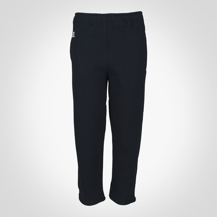 Youth Dri-Power® Open-Bottom Pocket Sweatpants Black