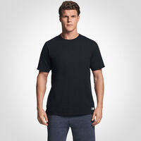 Men's Cotton Performance Tee BLACK