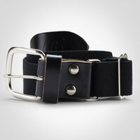 Youth Adjustable Baseball/Softball Belt BLACK