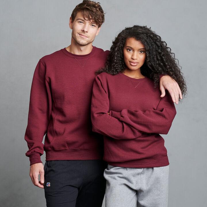 Men's Dri-Power® Fleece Crew Sweatshirt Maroon