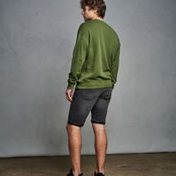 Men's Heritage Garment Dyed French Terry Sweatshirt CYPRESS