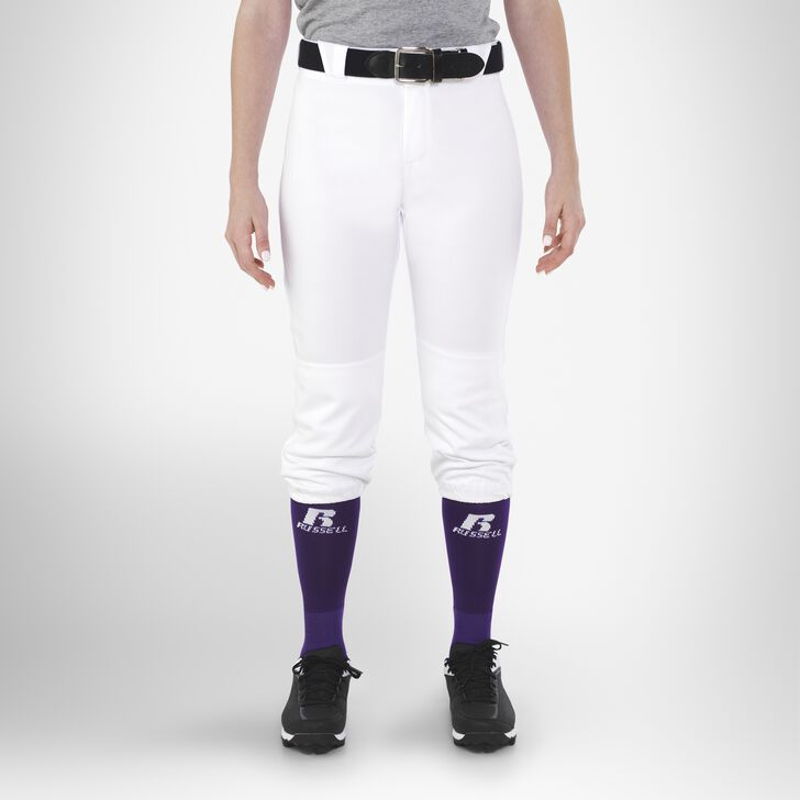 Women's Knicker Softball Pants WHITE