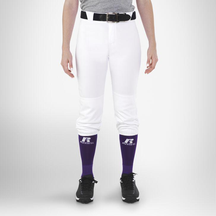 Women's Knicker Softball Pants WHITE