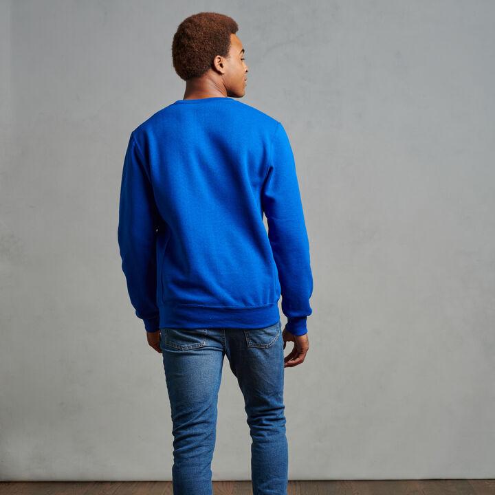 Men's Dri-Power® Fleece Crew Sweatshirt Royal