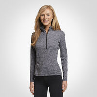 Women's Dri-Power® Lightweight 1/4 Zip Pullover BLACK
