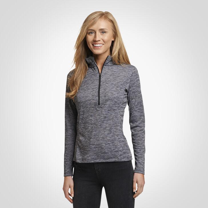 Women's Dri-Power® Lightweight 1/4 Zip Pullover BLACK