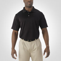 Men's Dri-Power® Golf Polo BLACK