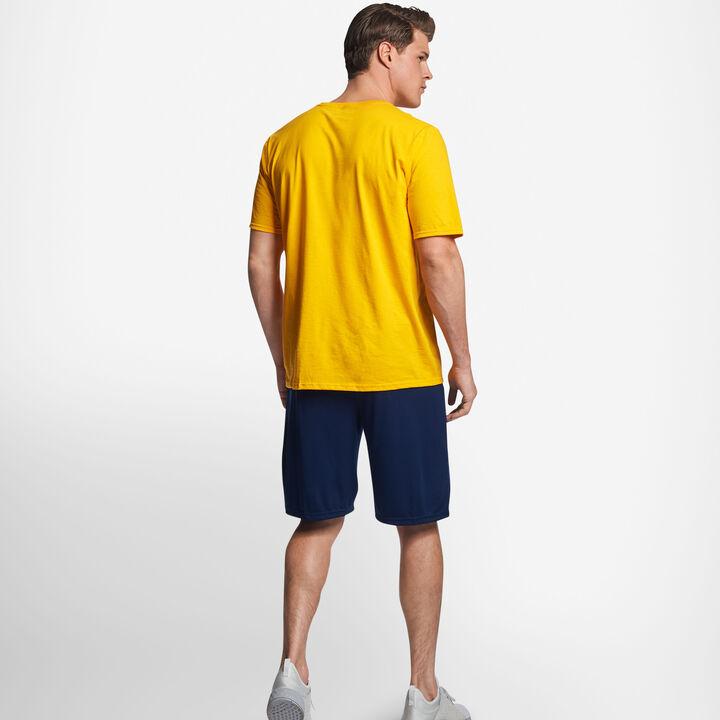 Men's Cotton Performance T-Shirt Gold