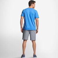 Men's Cotton Performance T-Shirt COLLEGIATE BLUE