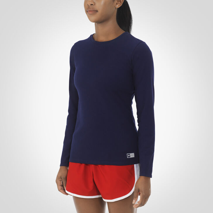 Women's Essential Long Sleeve Tee NAVY