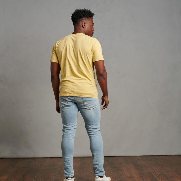 Men's Cotton Performance T-Shirt Gt Gold