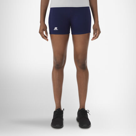 "Women's 3"" Low Rise Tight Shorts NAVY"