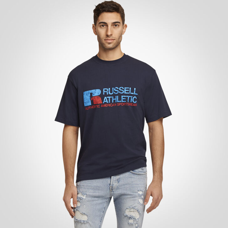 Men's Generals Distressed T-Shirt NAVY