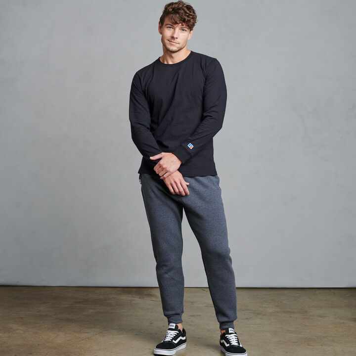 Men's Dri-Power® Fleece Joggers Black Heather