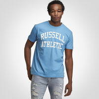 Men's Heritage Arch Graphic T-Shirt SKY BLUE