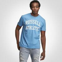 Men's Heritage Arch Graphic T-Shirt SKY BLUE