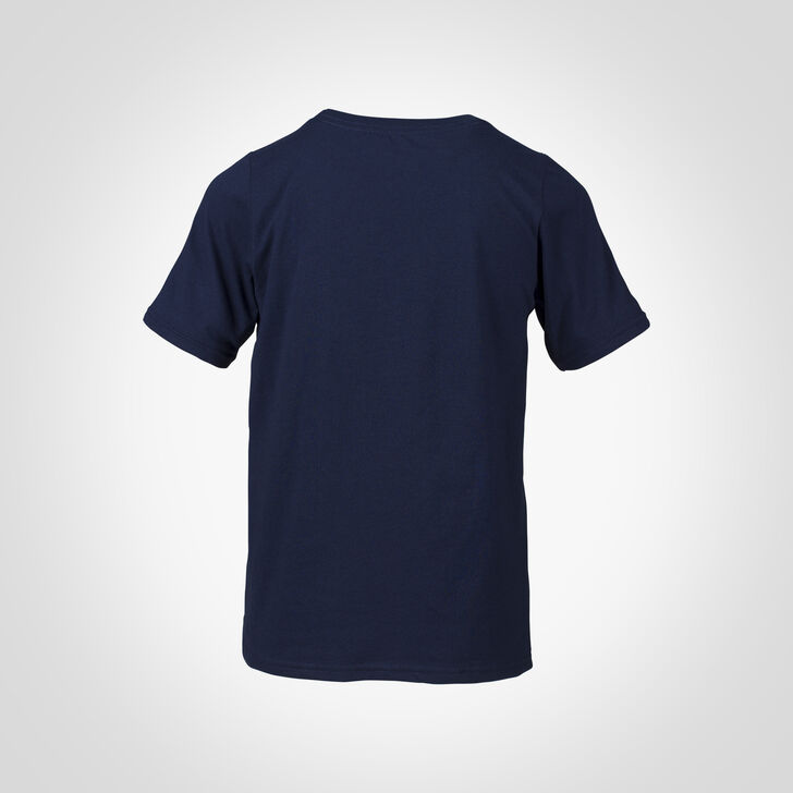 Youth Cotton Performance T-Shirt NAVY