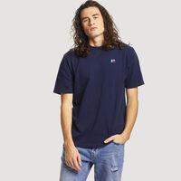 Men's Baseliner Heavyweight Cotton T-Shirt NAVY