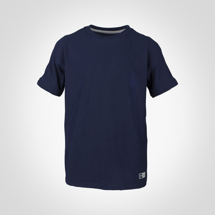 Youth Cotton Performance Tee NAVY