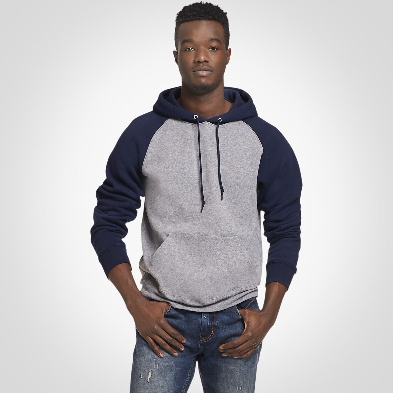 2e33d360 Men's Dri-Power® Fleece Colorblock Hoodie - Russell US | Russell ...