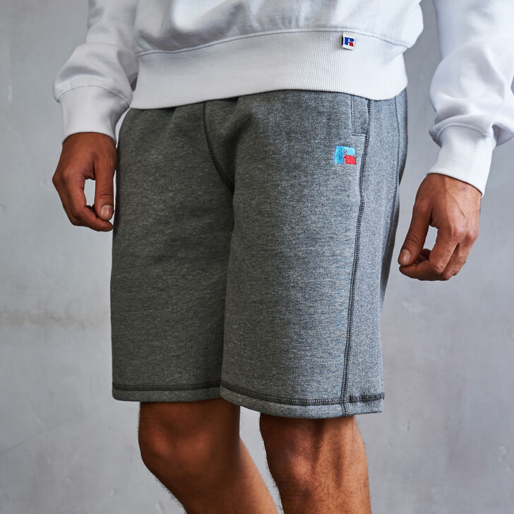 Men's Heritage Athletic Fleece Shorts HEATHER GRAY