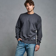 Men's Cotton Rich 2.0 Premium Fleece Sweatshirt Charcoal Heather