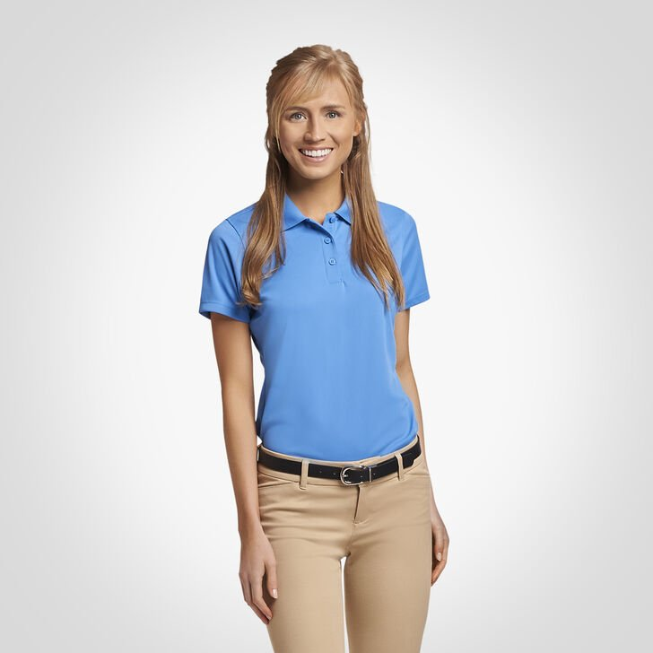 Women's Dri-Power® Performance Golf Polo COLLEGIATE BLUE