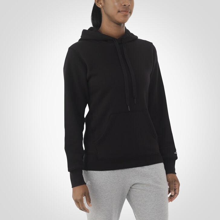 Women's Fleece Hoodie BLACK