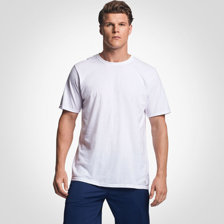 Men's Cotton Performance Tee WHITE