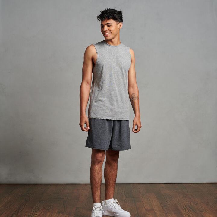 Men's Cotton Performance Muscle Oxford