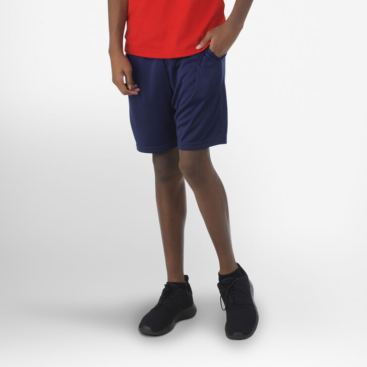 Youth Dri-Power® Essential Performance Shorts with Pockets NAVY