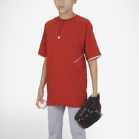 Youth Dri-Power® Short Sleeve 1/4 Zip Pullover TRUE RED/WHITE