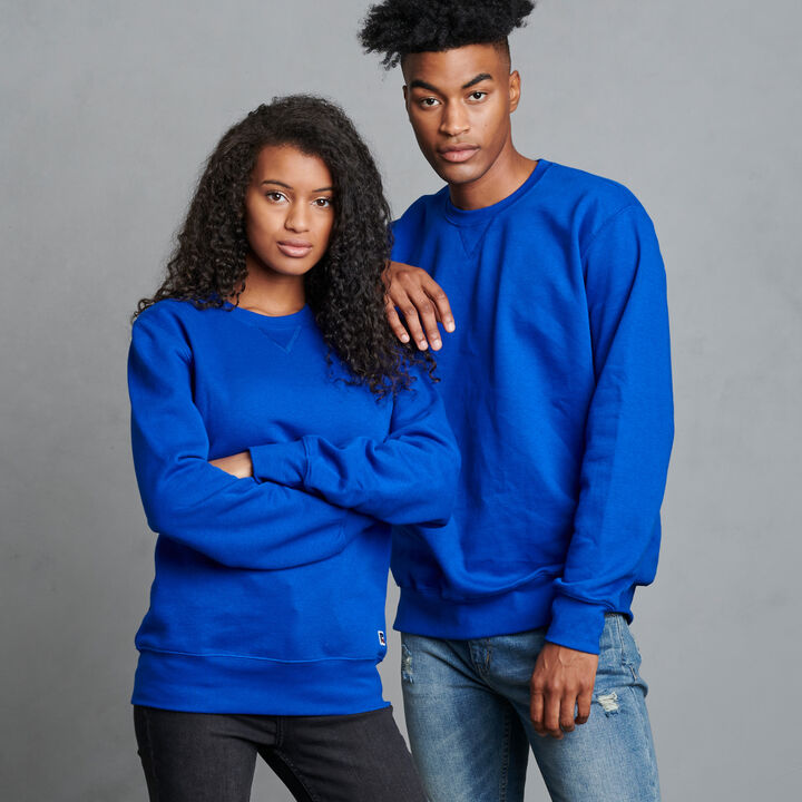 Men's Cotton Rich 2.0 Premium Fleece Sweatshirt Royal