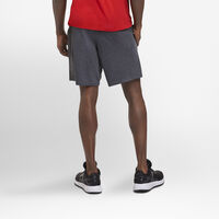 Men's Basic Cotton Pocket Shorts Black Heather