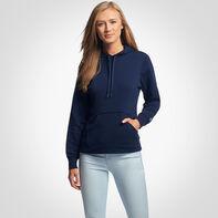 Women's Lightweight Fleece Hoodie NAVY